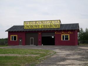 Punk wymiany opon - Kolonia Ostrowicka