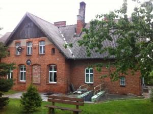 Budynek Szkoły Podstawowej w Pieniążkowie